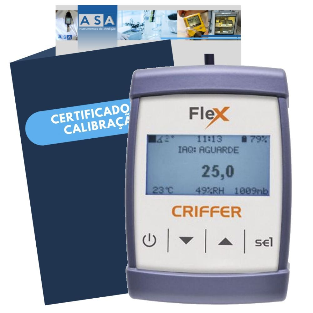 FLEX- Medidor Multifunções sem sonda