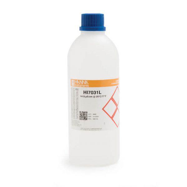 Solução de Condutividade 1413 µ/cm (µs, cm), 500 ml - HI7031L
