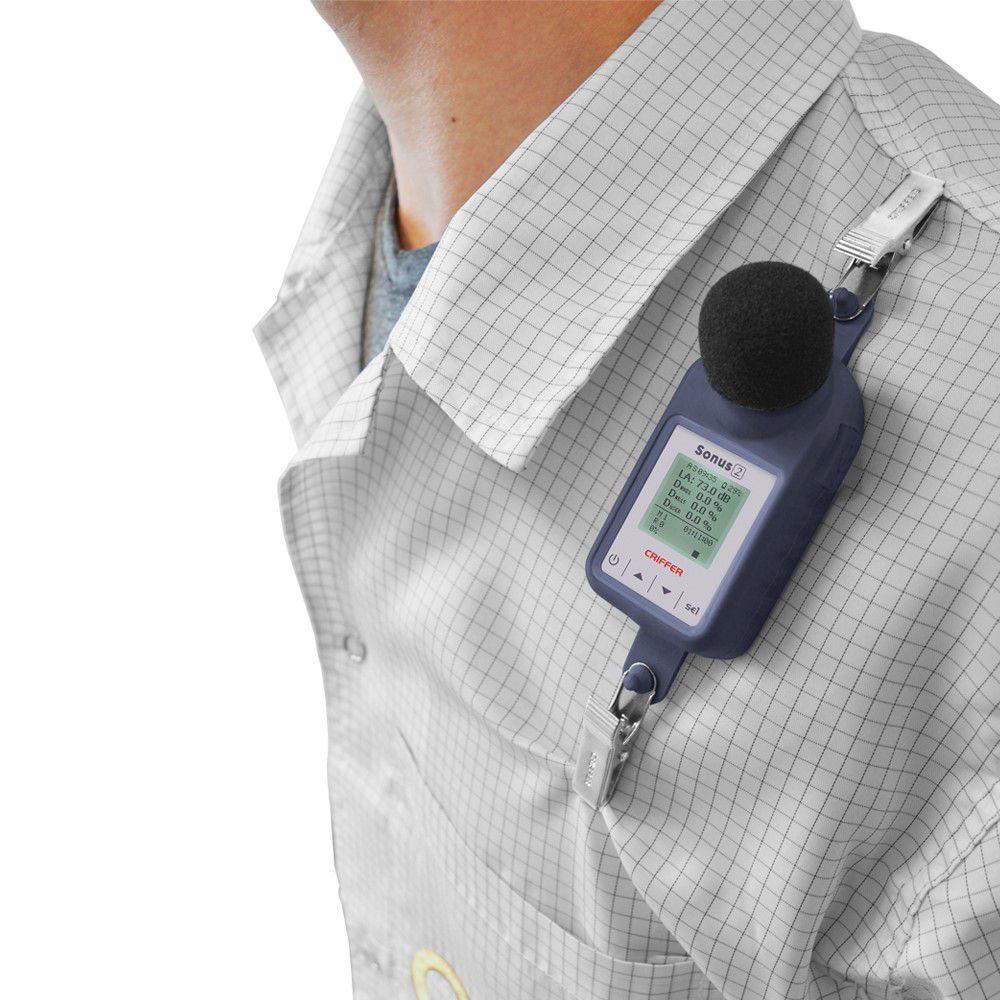 Sonus-2 Dosímetro de ruido digital