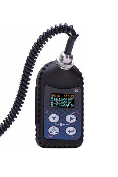 Medidor de vibração de corpo humano - SV 103