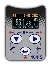 SV-104IS Dosímetro de ruído digital intrinsecamente seguro