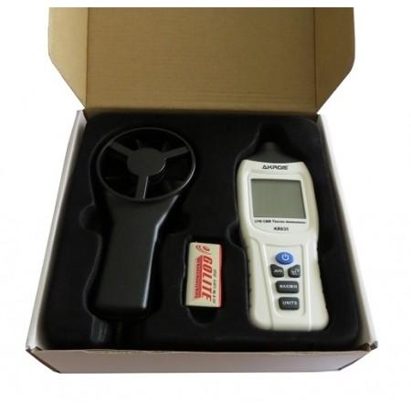 KR835 Termo Anemômetro com medição de vazão de ar (Disponibilidade: Imediata)