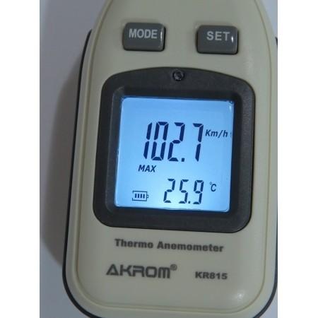 Termo anemômetro digital - KR815