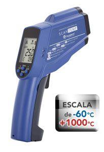 ST-900 Termômetro digital infravermelho (-60º até 1000°)