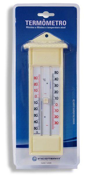 Termômetro Máxima e Mínima Analógico