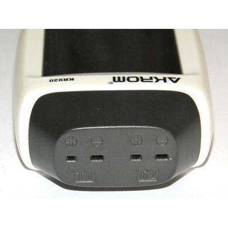 KR920 Termômetro portátil com 2 entradas para termopar