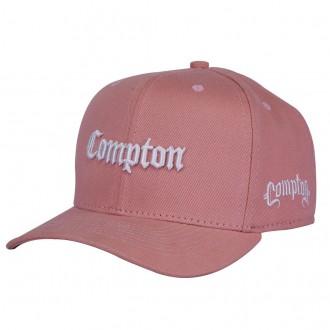 Boné Aba Curva Snapback Rosa Compton