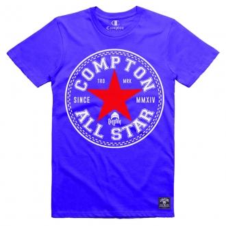 Camiseta Compton All Star Azul
