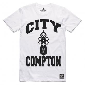 Camiseta Compton City Of Branco