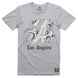 Camiseta Compton Los Angeles Cinza