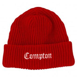 Gorro Compton Vermelho Bordado