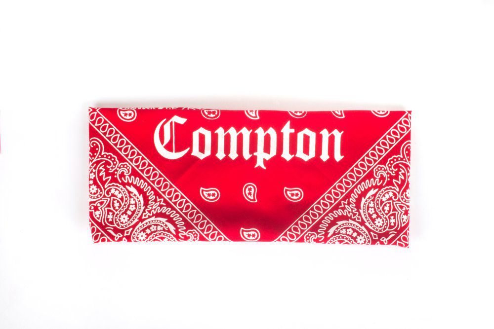 Bandana Compton Vermelho