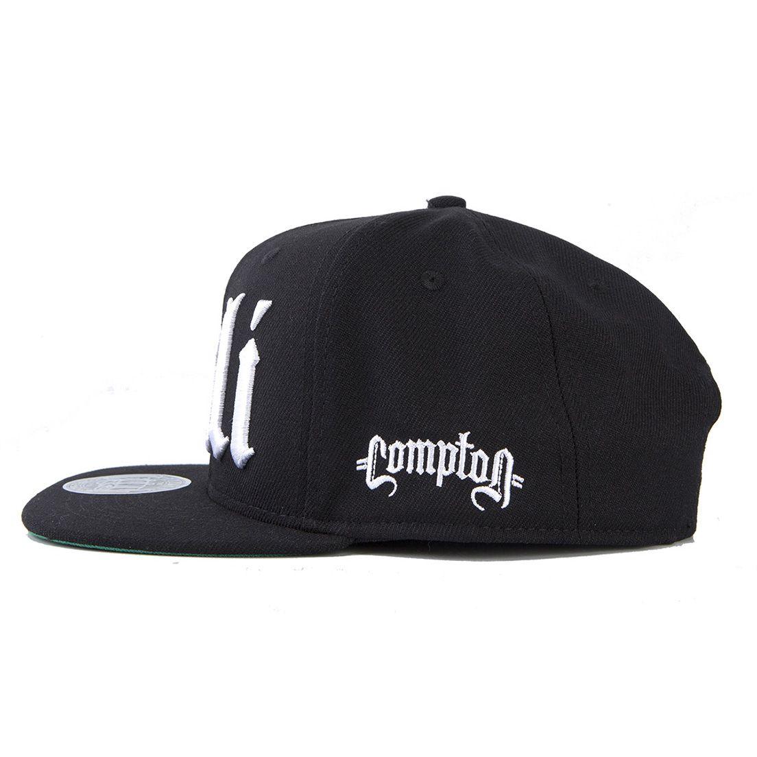 Boné Aba Reta Snapback Cali Preto Compton
