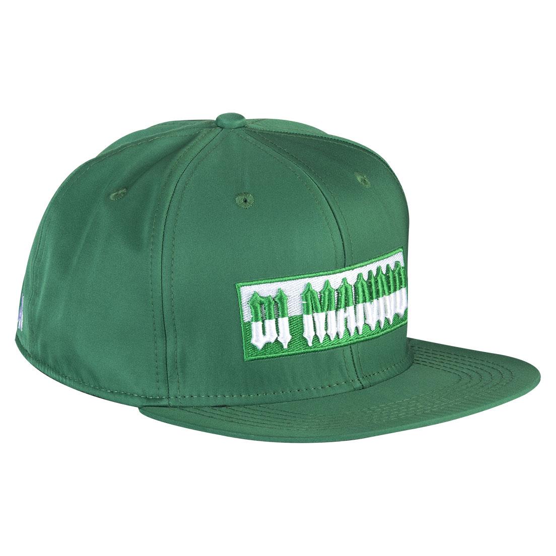 Boné Aba Reta Snapback Di Manno Verde