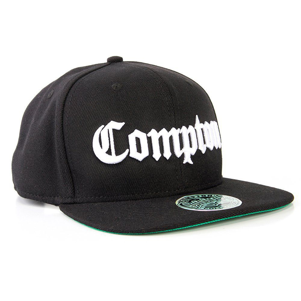 db5e8b170ba12 COMPTON - Boné Aba Reta Compton Clássico NWA Ice Cube Dr. Dre