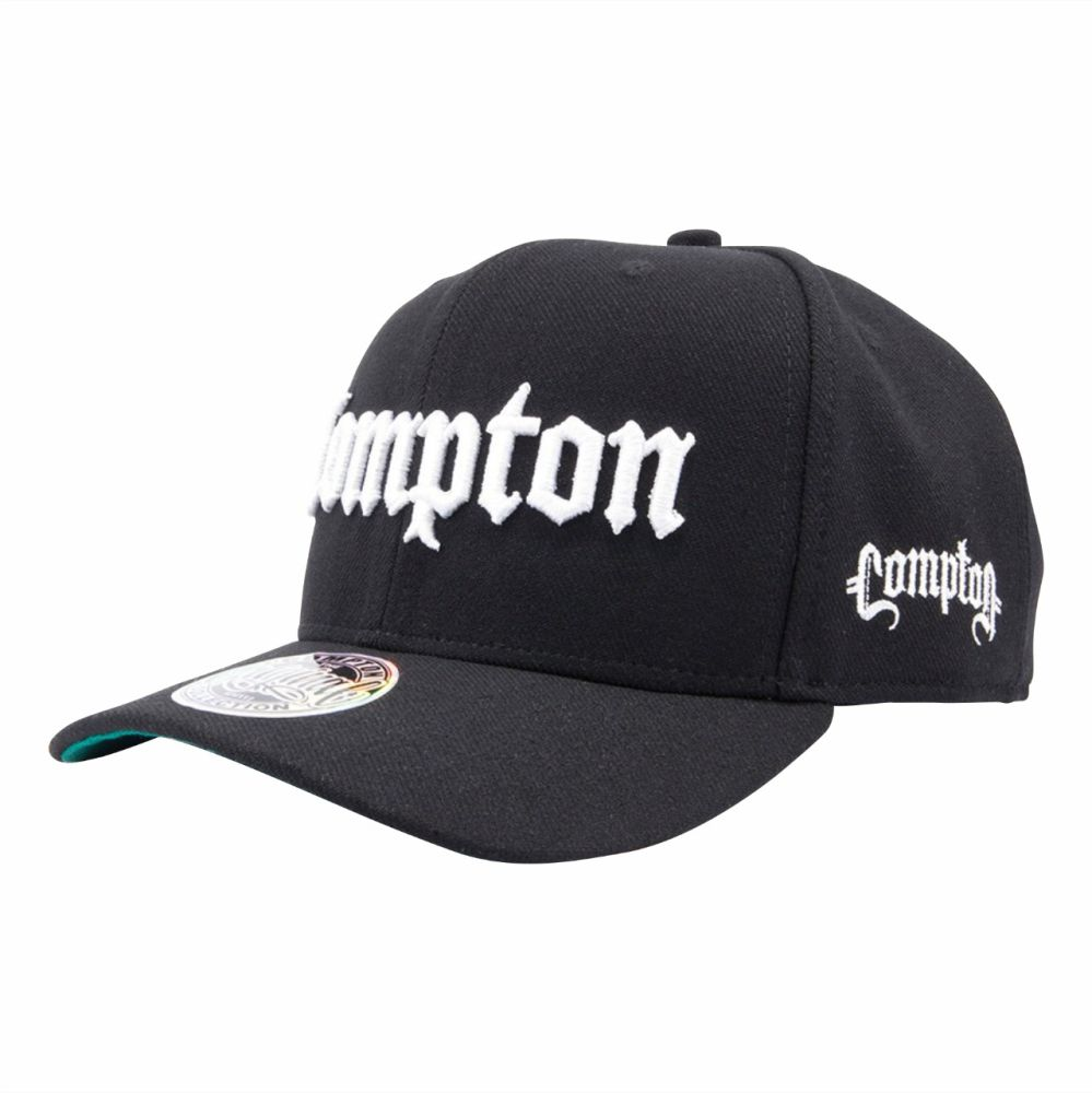 Boné Compton Snapback Classic Aba Curva 089256e88c3