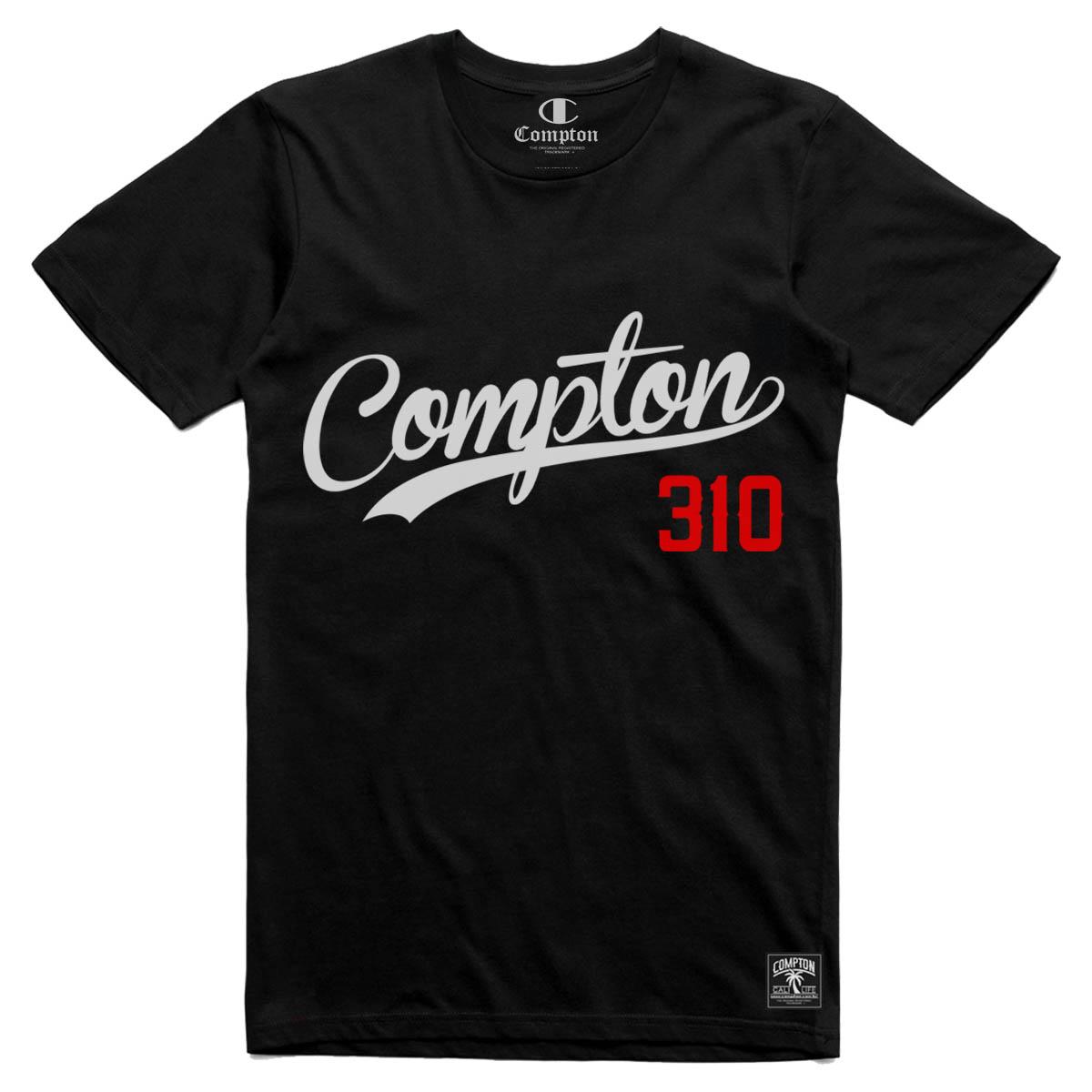 Camiseta Compton 310 Preta