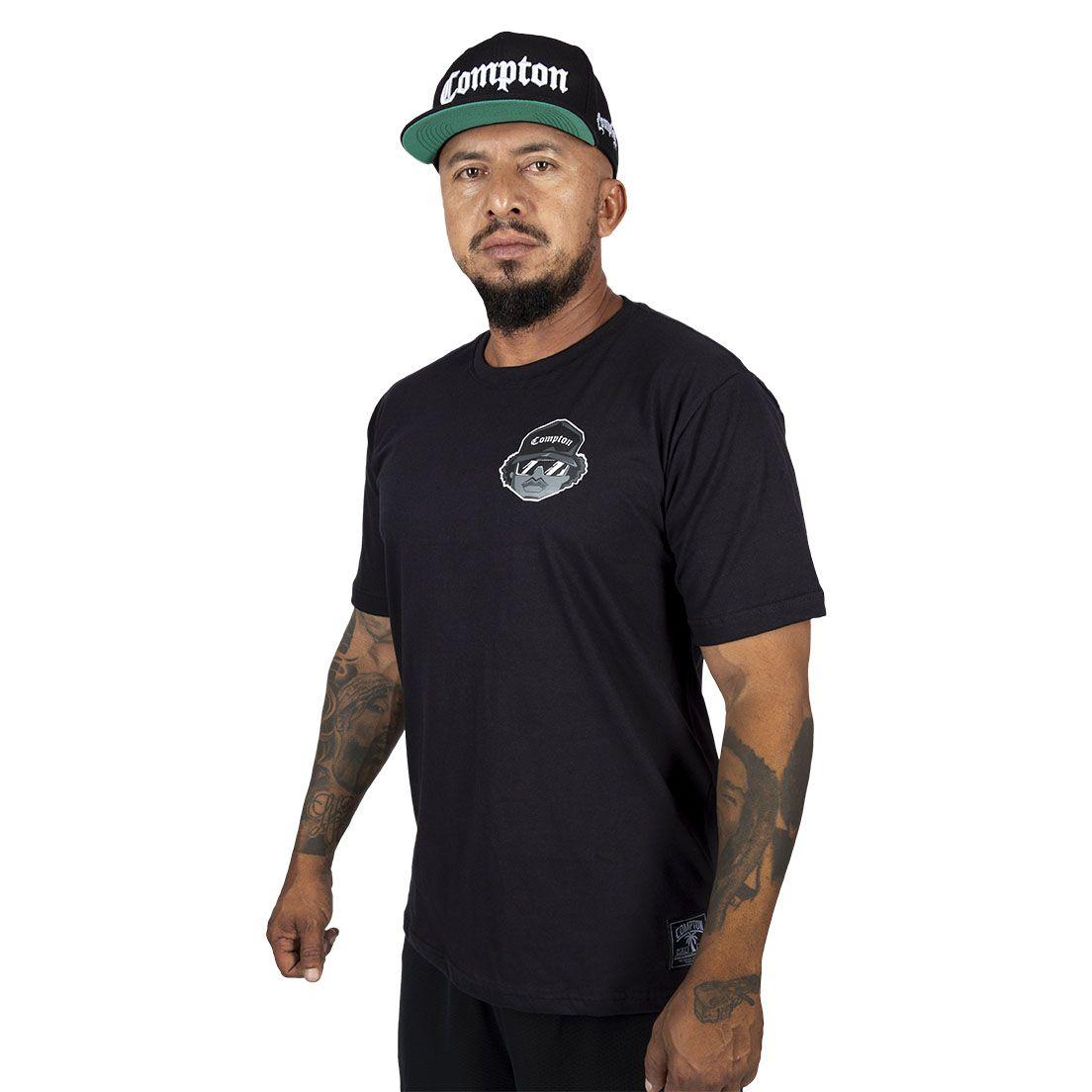Camiseta Compton Básica Eazy-e Preta
