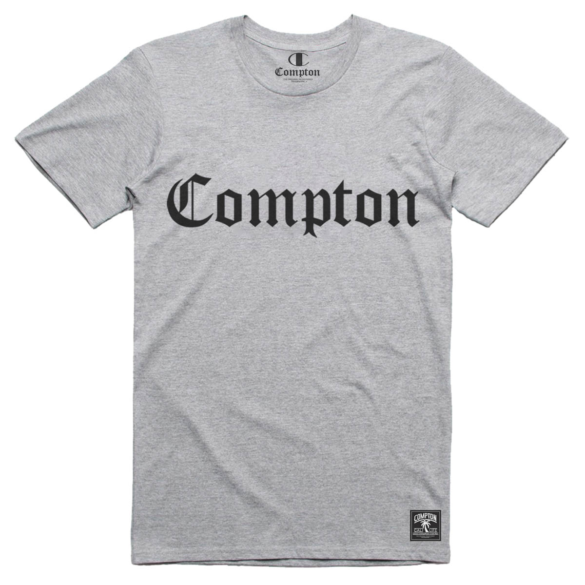 Camiseta Compton Cinza