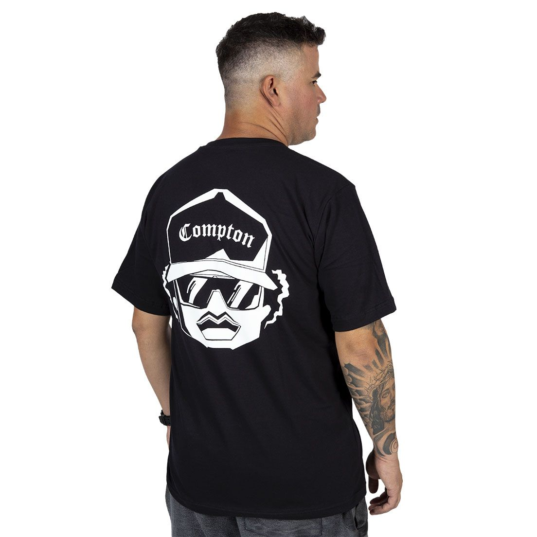Camiseta Compton Eazy-e Shadow Preta