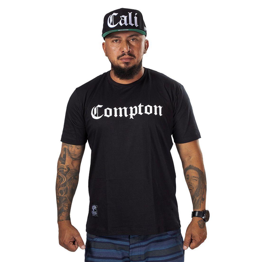 Camiseta Compton Tradicional Preta