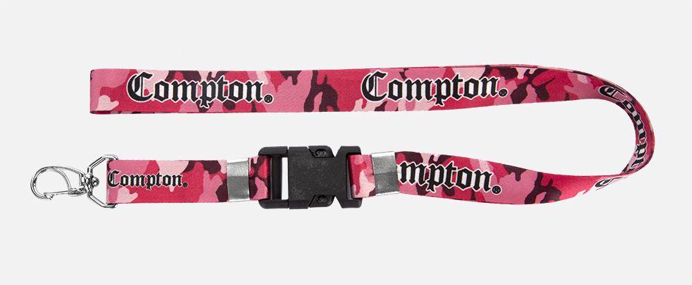 Chaveiro Cordão Camuflado Rosa Compton