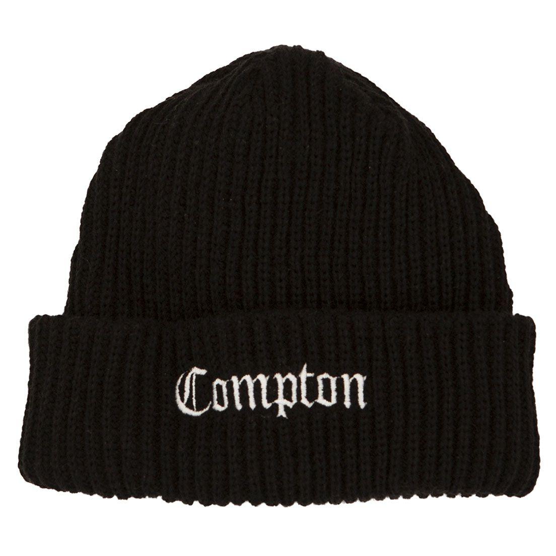 Gorro Compton Preto Bordado