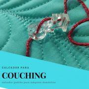 Calcador transparente Multi para Couching - máquinas domésticas
