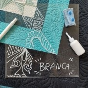 KIT Placa de Quilting OQS *BRANCA*