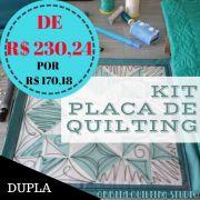 KIT Placa de Quilting OQS - DUPLA