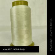 Linha trilobal - cor Amarelo Ultra-Baby - 1000 metros