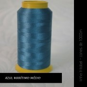 Linha trilobal - cor Azul Marítimo Médio - 1000 metros
