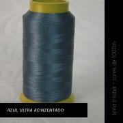 Linha trilobal - Cor azul ultra-acinzentado- 1000 metros