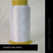 Linha trilobal - cor Branco Brilhante - 1000 metros