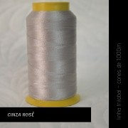 Linha trilobal - cor Cinza Rosê - 1000 metros