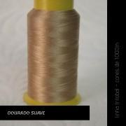 Linha trilobal - cor Dourado Escuro - 1000 metros