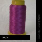Linha trilobal - cor Magenta - 1000 metros