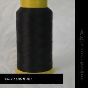 Linha trilobal - cor Preto Absoluto - 1000 metros