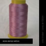 Linha trilobal - cor Rosa Antigo Médio - 1000 metros