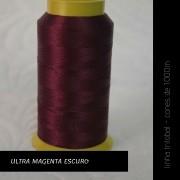 Linha trilobal - cor Ultra Magenta Escuro - 1000 metros