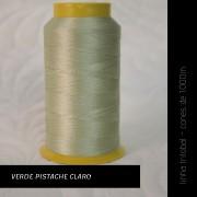 Linha trilobal - Cor verde pistache claro- 1000 metros
