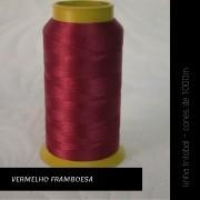 Linha trilobal - cor Vermelho Framboesa - 1000 metros