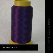 Linha trilobal - Cor violeta escuro- 1000 metros