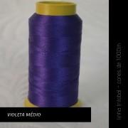 Linha trilobal - cor Violeta Médio - 1000 metros