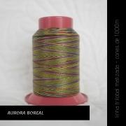 Linha trilobal Matizada - cor Aurora boreal - 1000 metros