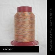 Linha trilobal Matizada - cor Circense - 1000 metros