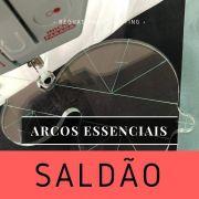 SALDÃO - Régua de quilting Arcos Essenciais