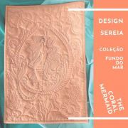 Sereia - design do quilt The Coral Mermaid