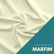 Tecido Percal Cor Marfim - 100% algodão com 2,50m de largura
