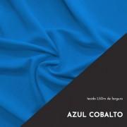 Tecido Tricoline Liso Cor Azul Cobalto 100% algodão